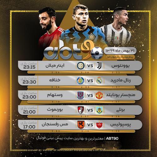 کانال پیش بینی فوتبال خارجی