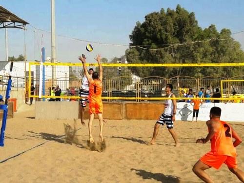 ابعاد زمین والیبال ساحلی چقدر است؟